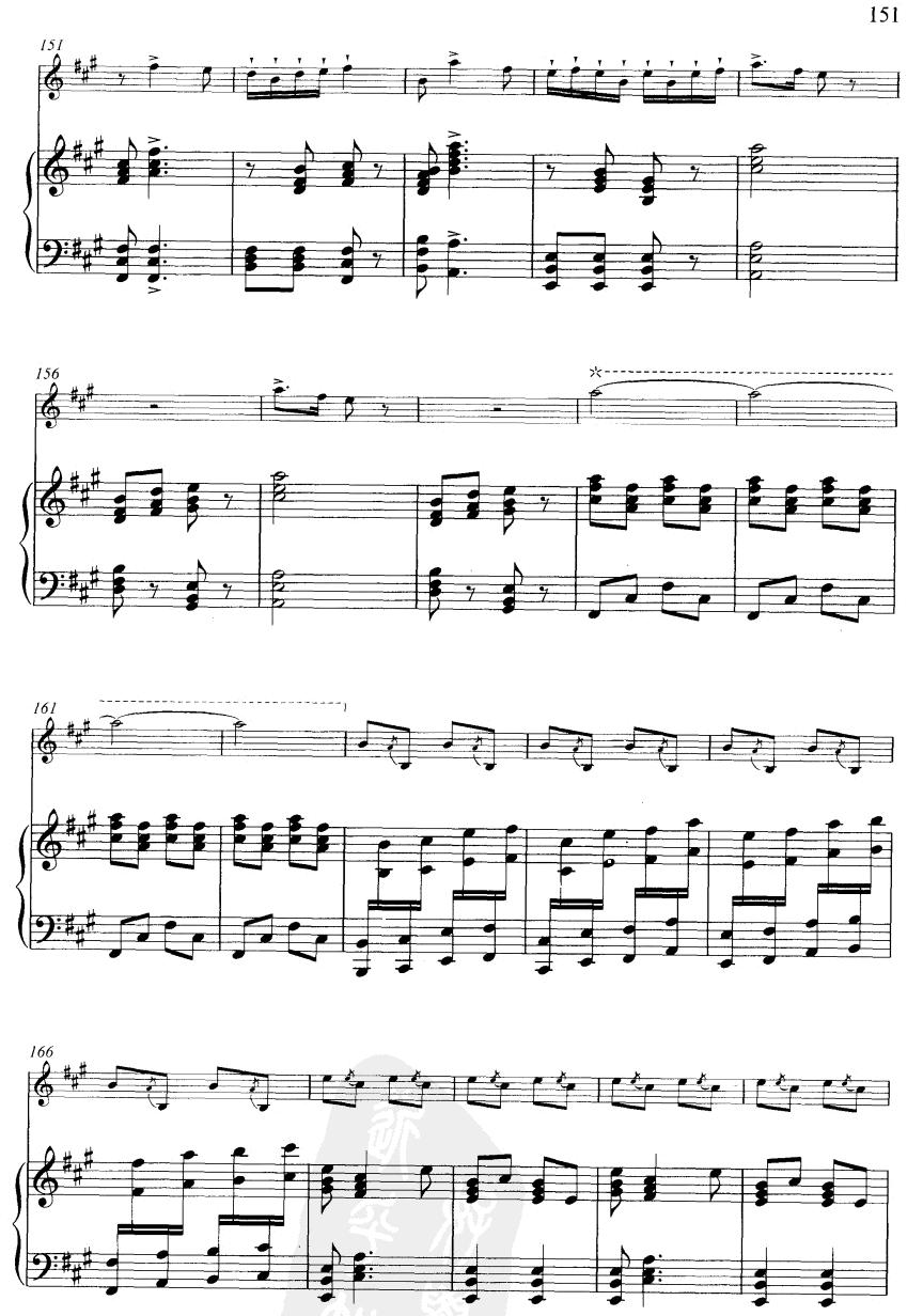 下载:大青山下(线谱)笛子(箫)曲谱(图9)-大青山下 线谱