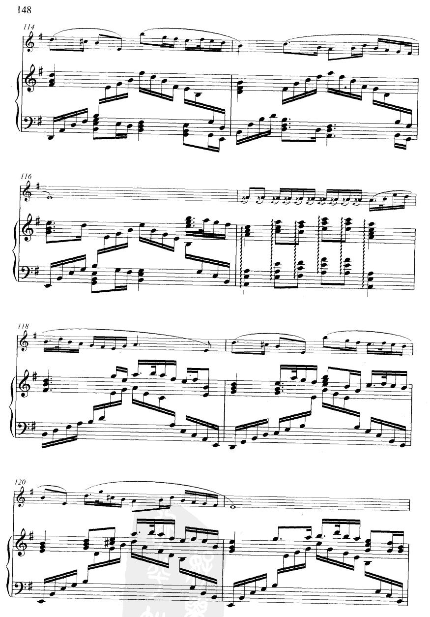 下载:大青山下(线谱)笛子(箫)曲谱(图6)-大青山下 线谱