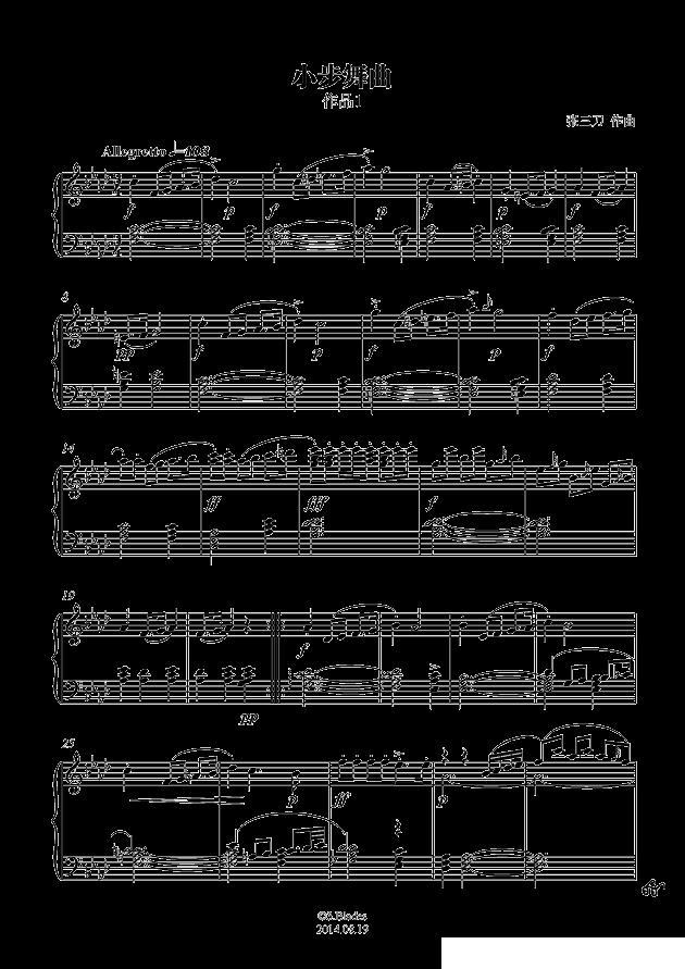 下载:f小调小步舞曲钢琴曲谱(图1)