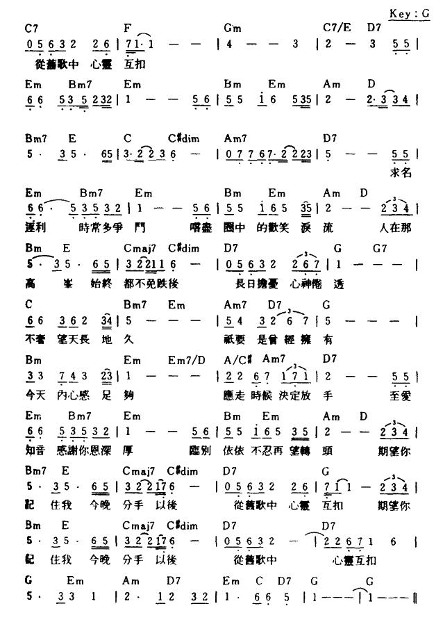 急流永退简谱(图2)