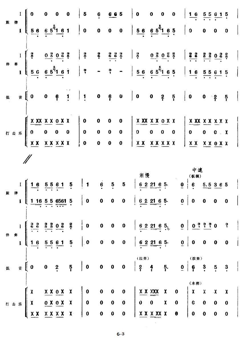 下载:五、欢庆胜利(民族管弦乐《小八路》套曲)其它曲谱(图3)