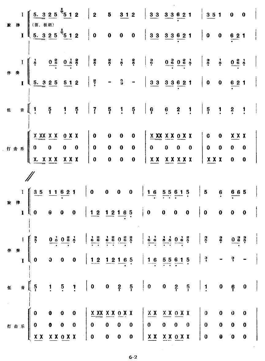 下载:五、欢庆胜利(民族管弦乐《小八路》套曲)其它曲谱(图2)