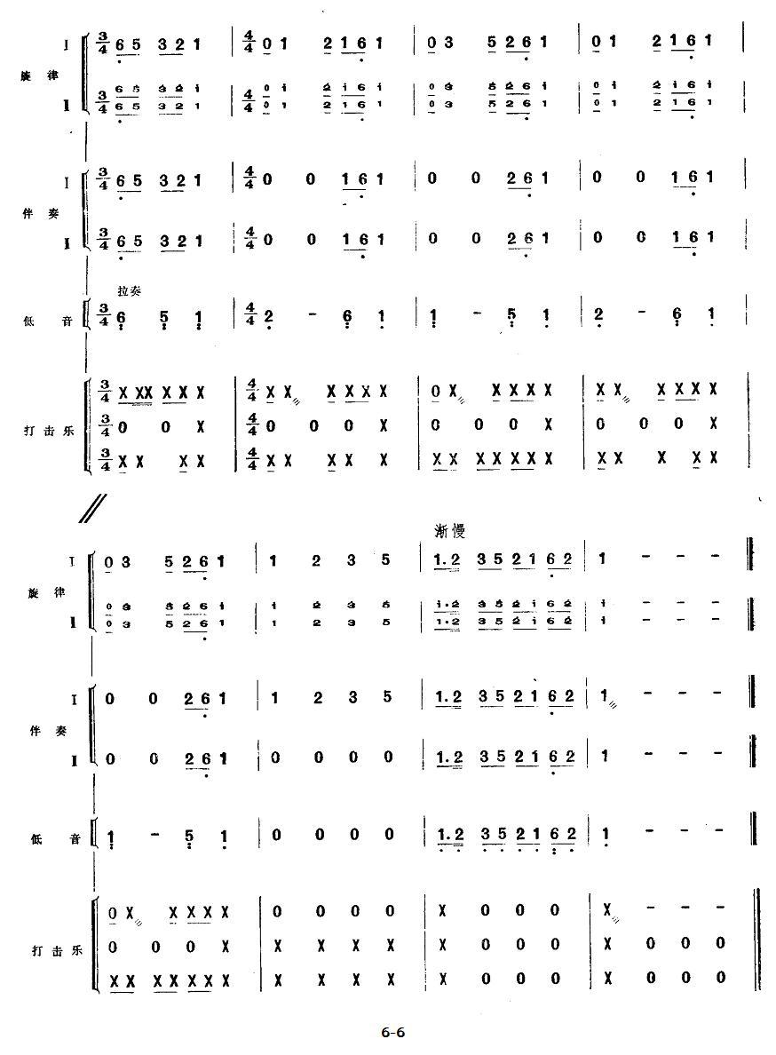 下载:五、欢庆胜利(民族管弦乐《小八路》套曲)其它曲谱(图6)