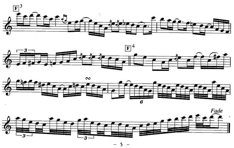 瞬间萨克斯曲谱(图5)