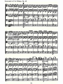 Serenade in C for Strings,Op.48C调弦乐小夜曲,Op.48(十一)